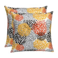 Floral Spice Feather Down Pillow