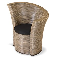Rattan Left Tub Chair