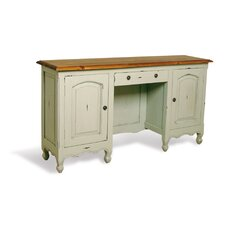 French Painted Vanity Table