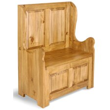 Classic Pine Small Two Seat Bench