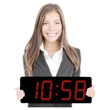 Huge Elegant Laser Digital Clock