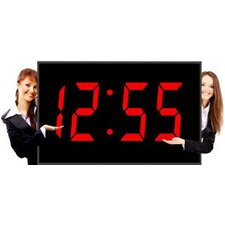"The Biggest 15"" Numerals LED Wall Clock"