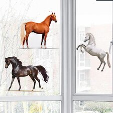 Horseland Window Sticker