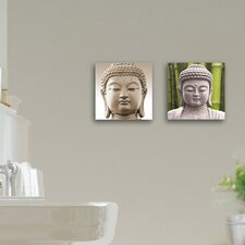 Deco Glass Enlightened 2 Piece Photographic Print Set