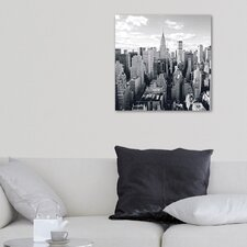 Deco Glass Skyline of Manhattan Photographic Print
