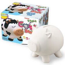 Jumbo Ceramic Cow Bank