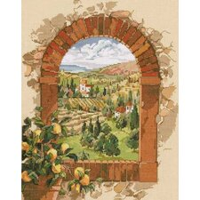 Dreaming Of Tuscany Counted Cross Stitch