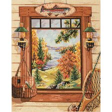 Sportsmans Dream Counted Cross Stitch