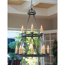 Lakeshore 12 Light Chandelier
