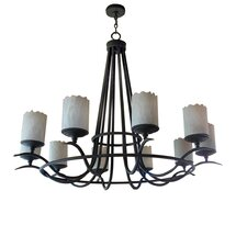 <strong>2nd Ave Design</strong> Octavia 10 Light Chandelier