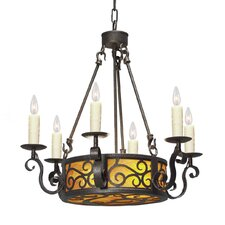 Delano 8 Light Chandelier