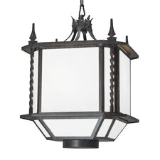 Noah 3 Light Outdoor Foyer Lantern
