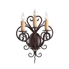 Kenneth 3 Light Wall Sconce