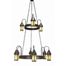 <strong>2nd Ave Design</strong> Algonquin 9 Light Chandelier
