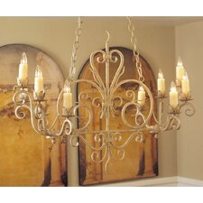 Kimberly 10 Light Chandelier