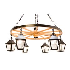 <strong>2nd Ave Design</strong> Silverton 6 Light Chandelier