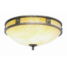 Capella 2 Light Ceiling Mount