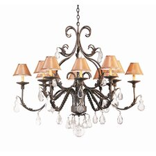 French Elegance 12 Light Chandelier