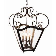 Terena 4 Light Foyer Lantern