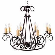 <strong>2nd Ave Design</strong> Marguerite 8 Light Chandelier