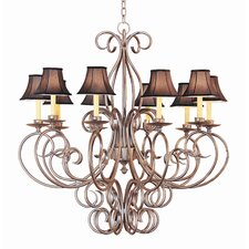 <strong>2nd Ave Design</strong> Phillipe 10 Light Chandelier