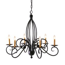Squire 6 Light Chandelier