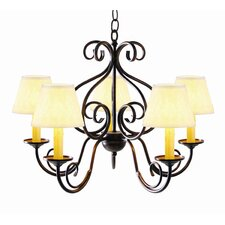Jenna 5 Light Chandelier
