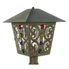Julie 1 Light Post Lantern