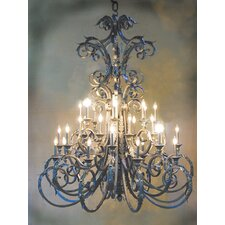 Serratina 32 Light Chandelier