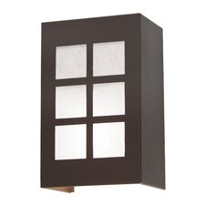 Alo 2 Light Exterior Wall Sconce