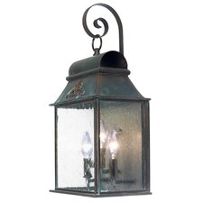 Bastille 3 Light Exterior Wall Lantern
