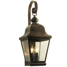 La Palma 3 Light Exterior Wall Lantern