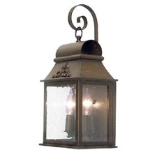 <strong>2nd Ave Design</strong> Bastille 2 Light Exterior Wall Lantern