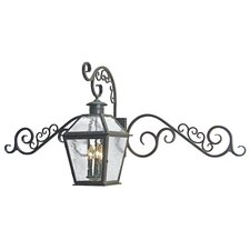 <strong>2nd Ave Design</strong> Bentley 3 Light Exterior Wall Lantern