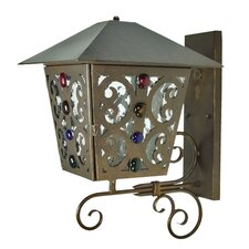 Julie Outdoor 1 Light Wall Lantern