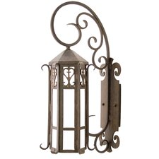 <strong>2nd Ave Design</strong> Caprice 1 Light Exterior Wall Lantern