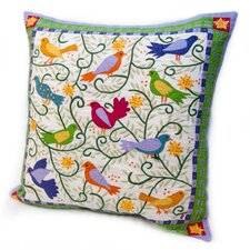 <strong>Rennie & Rose Design Group</strong> Susan Sargent Bird in Bush Pillow