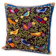 Susan Sargent Bird in Bush Pillow