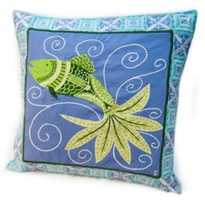 Susan Sargent Fish Tale Accent Pillow