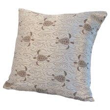Coastal Sea Turtle Pillow