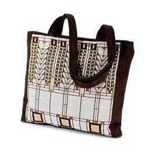 Frank Lloyd Wright Tree of Life Unlined Shoulder Tote Bag (Set of 4)