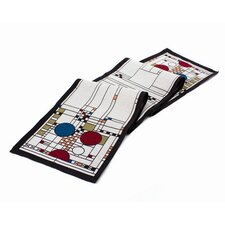 Frank Lloyd Wright Coonley Playhouse Table Runner
