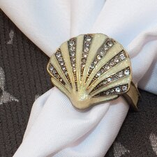 Sea Shell Napkin Rings (Set of 4)