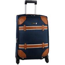 "Vintage 20"" Spinner Suitcase"