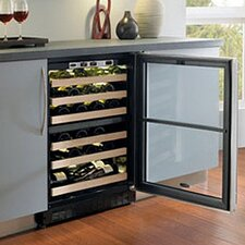 Chateau 44 Bottle Dual Zone Built-In Wine Refrigerator