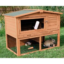Rabbit Hutch with Peaked Roof
