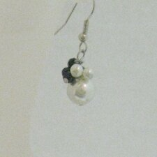 Cultured Pearl Beads Earrings