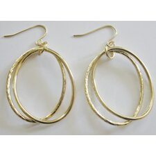 Oval Ring Earrings