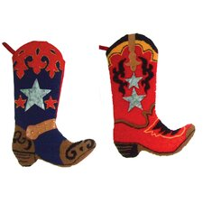 "2 Piece 19"" Cowboy Stocking"