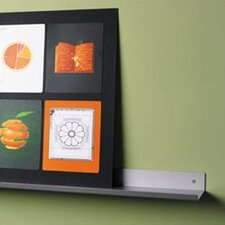 <strong>Peter Pepper</strong> Envision® Wall Mounted Aluminum Shelf with Lip